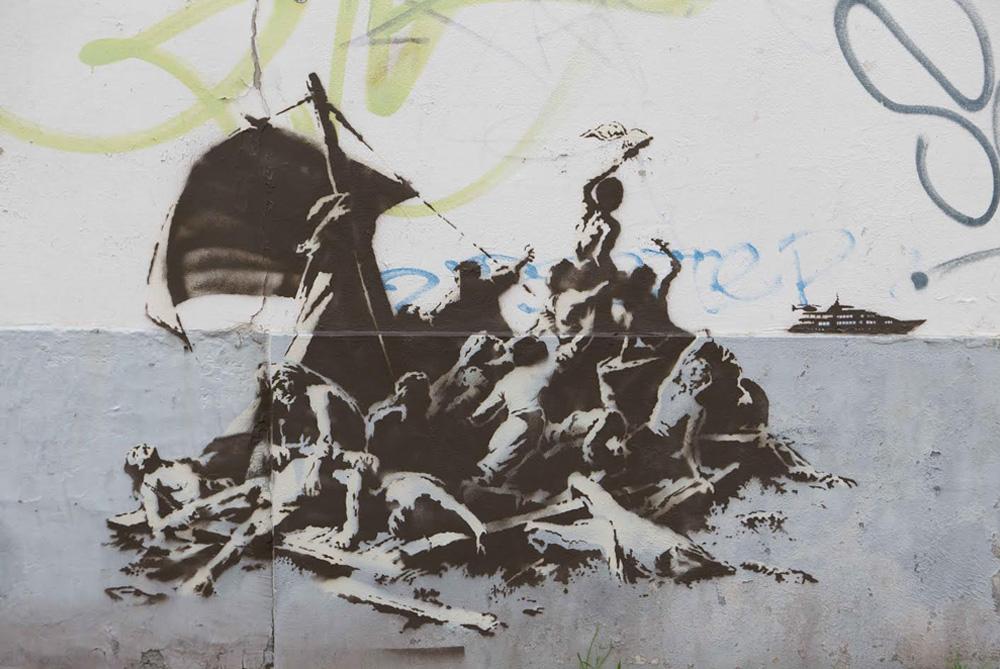 El muro del Efebo Rubio