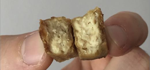 ASMR vegano: Palitos crujientes de tofu con soja